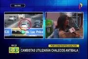 Surco: cambistas utilizarán chalecos antibalas ante continuos asaltos