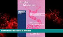 liberty book  English in Medicine: A Course in Communication Skills