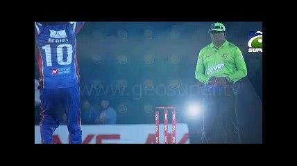 Shahid Afridi pareformance against Khulna Titans in BPL 2016