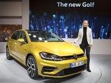 A bord de la Volkswagen Golf 7 restylée