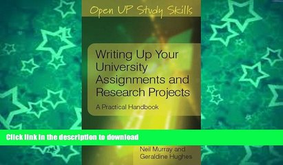 READ  Writing up your university assignments and research projects (Open Up Study Skills) FULL