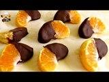 2 INGREDIENT CHOCOLATE MANDARINS