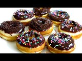 CHOCOLATE GLAZED MINI DONUTS