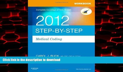 Best books  Workbook for Step-by-Step Medical Coding 2012 Edition, 1e online