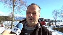 D!CI TV : Hautes-Alpes : Certains éleveurs songent déjà à rentrer leur bétail dans l'étable