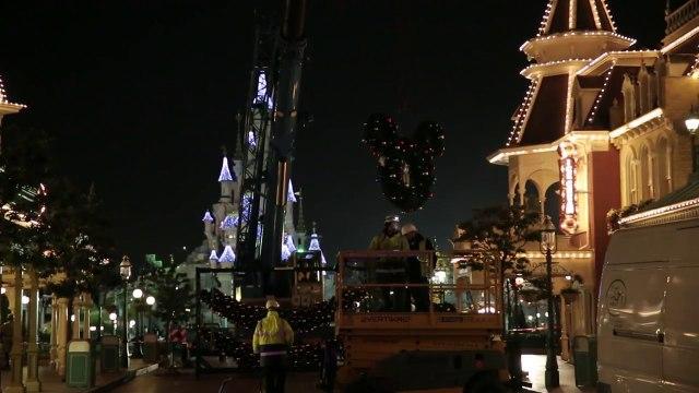 Une nuit particuliere à Disneyland Paris