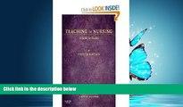FREE PDF  Teaching in Nursing: A Guide for Faculty, 4e (Billings, Teaching in Nursing: A Guide for