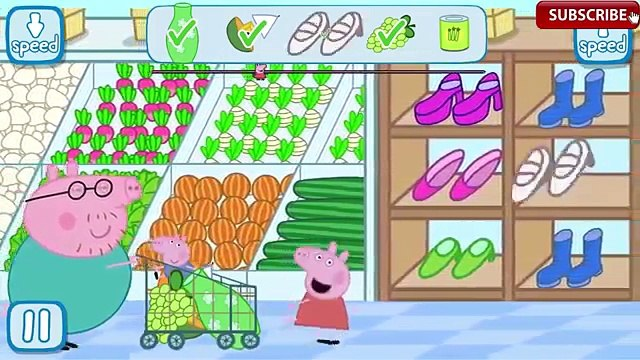Peppa Pig Grocery Shopping Daddy Pig With George Go Shopping Peppa in the Supermarket