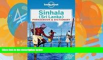 Books to Read  Lonely Planet Sinhala (Sri Lanka) Phrasebook   Dictionary (Lonely Planet Phrasebook