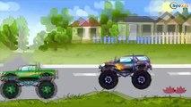 ✔ Мультфильмы для Детей все серии подряд! Монстр Трак сумасшедшие гонки / Cars Cartoons for kids ✔