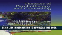 Ebook Theories of Psychotherapy   Counseling: Concepts and Cases Free Read