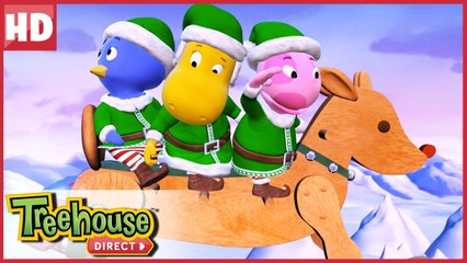 The Backyardigans are on the case! Action Elves to the rescue! | Treehouse Direct Clips
