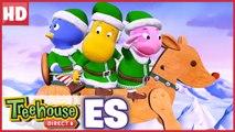¡Los Backyardigans están en el caso! ¡Elfos de acción al rescate! | Treehouse Direct Clips