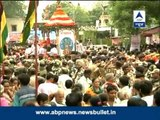 Jagannath Yatra today begins amidst tight security
