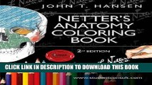 Best Seller Netter s Anatomy Coloring Book: with Student Consult Access, 2e (Netter Basic Science)