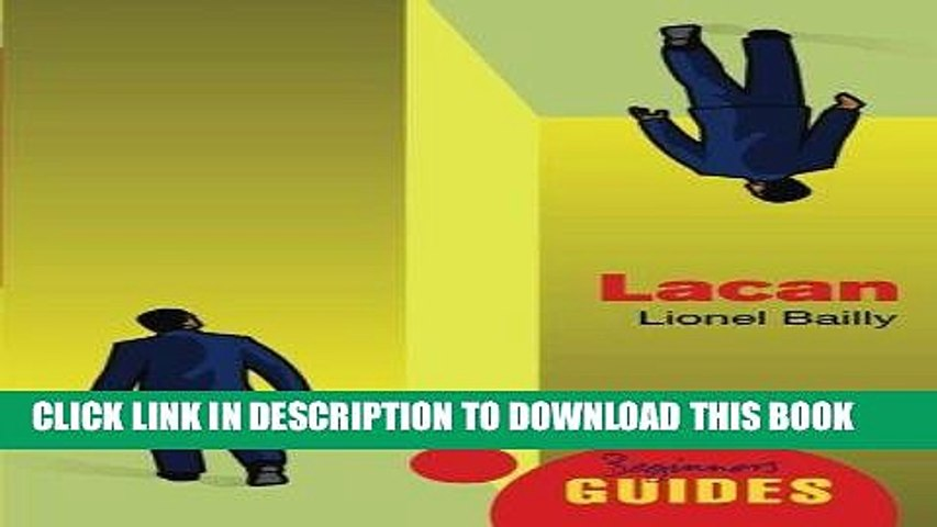 Best Seller Lacan: A Beginner s Guide Free Read
