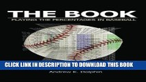 Video [PDF] The Book: Playing The Percentages In Baseball Full Online