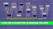 Best Seller Why Psychoanalysis? (European Perspectives: A Series in Social Thought and Cultural