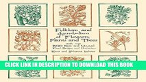 Best Seller Folklore and Symbolism of Flowers, Plants and Trees (Dover Pictorial Archive) Free