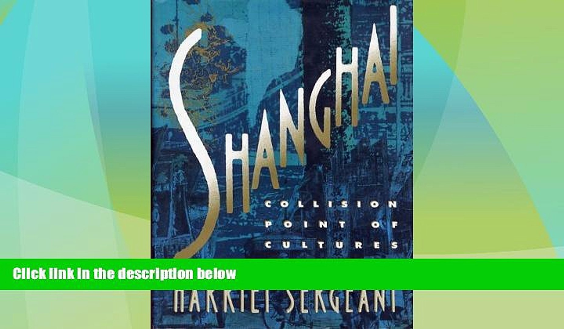 Deals in Books  Shanghai: Collision Point of Cultures 1918--1939  Premium Ebooks Best Seller in USA