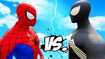 Spiderman vs Black Spider-Man - Epic Superheroes Battle