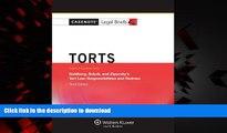 Best books  Casenote Legal Briefs: Torts, Keyed to Goldberg, Sebok,   Ziprusky, Third Edition