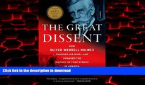 Best books  The Great Dissent  How Oliver Wendell Holmes Changed His Mind--and Changed the History