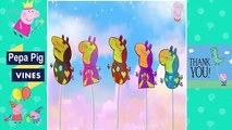 Peppa Pig Vines   Peppa Pig Lollipop Iron Man Finger Family Nursery Rhymes Lyrics