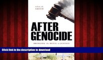 liberty book  After Genocide: Bringing the Devil to Justice online to buy