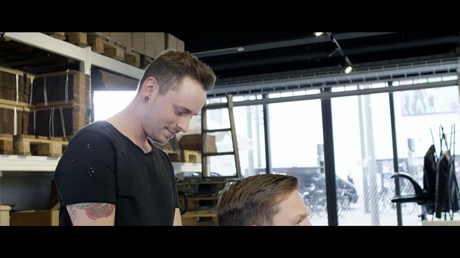 Best Michael Fassbender Hairstyle Classic Side Parting Men S Hair How To Tutorial Video Dailymotion