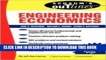 Ebook Schaum s Outline of Engineering Economics 1st (first) edition Text Only Free Read