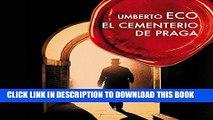 Read Now El cementerio de Praga [The Prague Cemetery] PDF Online