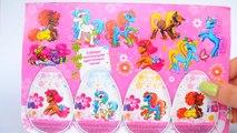 Шоколадные яйца с сюрпризом «Цветочные Пони» Часть 1. Chocolate eggs Surprise Flower Pony Part 1