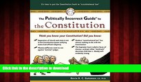Buy book  The Politically Incorrect Guide to the Constitution (Politically Incorrect Guides)