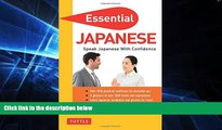 Must Have  Essential Japanese: Speak Japanese with Confidence! (Japanese Phrasebook   Dictionary)