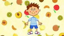 Развивающие мультики - Детские песни - Фрукты