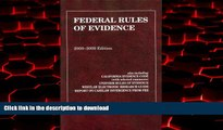 Buy book  Federal Rules of Evidence, with Evidence Map, 2008-2009 Edition online to buy
