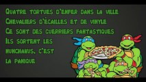 Tortues ninja générique entier (1987) Paroles HD
