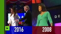 Discours de Mme TRUMP: un copié-collé du premier discours de Michelle OBAMA en 2008