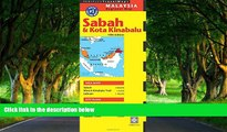 Big Deals  Sabah   Kota Kinabalu Travel Map Fifth Edition (Periplus Travel Maps)  Most Wanted