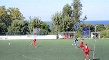 Coupe de France. Santa Reparata- AS Casinca Victoire 8 à 1.But Nico Vandelli.