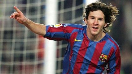 Le vrai premier but de la carrière de Lionel Messi !