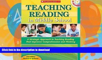 READ  Teaching Reading in Middle School: 2nd Edition: A Strategic Approach to Teaching Reading
