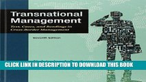 [BOOK] PDF Transnational Management: Text, Cases   Readings in Cross-Border Management New BEST
