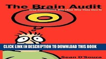 [DOWNLOAD] PDF The Brain Audit: Why Customers Buy (and Why They Don t) New BEST SELLER