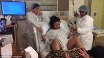 Kardashian Ailesinin Gelini Doğum Anını Sosyal Medyada Paylaştı