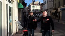 Action TPE de la Cfdt du Var jeudi 10 novembre 2016 à Cuers et Pierrefeu avec la participation de Didier Serna, SG de l'URI Cfdt PACA