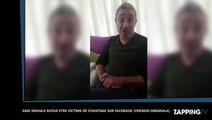 Maroc : Saïd Senhaji victime de chantage, il s'explique sur Facebook (Vidéo)
