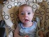bébé qui parle 3 mois
