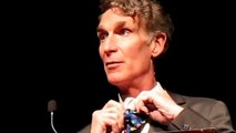 Bill Nye shows you  how to tie a Nye Bow tie!